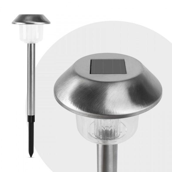 LED-es szolár lámpa - leszúrható - hidegfehér - 45 x 12,5 cm  11229