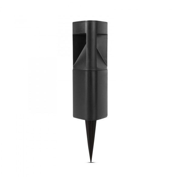 LED-es szolár lámpa - háromszög alakú, fekete, műanyag  11233A