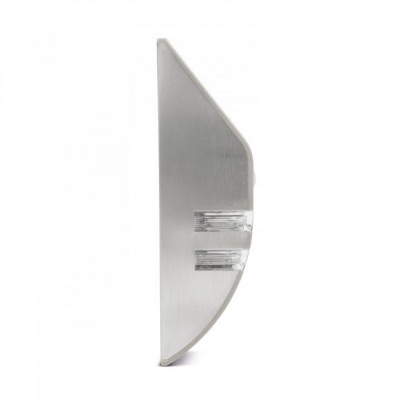 LED-es szolár fali lámpa - mozgásérzékelős - hidegfehér - 170 x 78 mm  11245