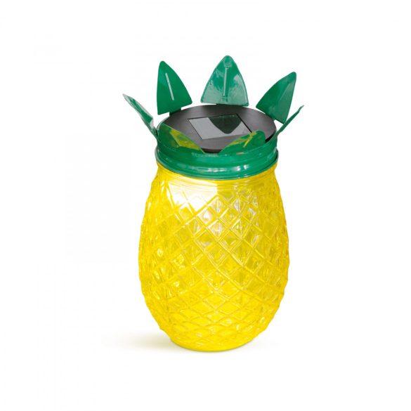 LED-es szolár lámpa - ananász - 170 x Ø90 mm  11250B