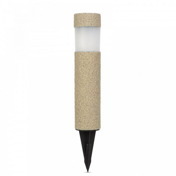 LED-es szolár lámpa - kőmintás - műanyag11265