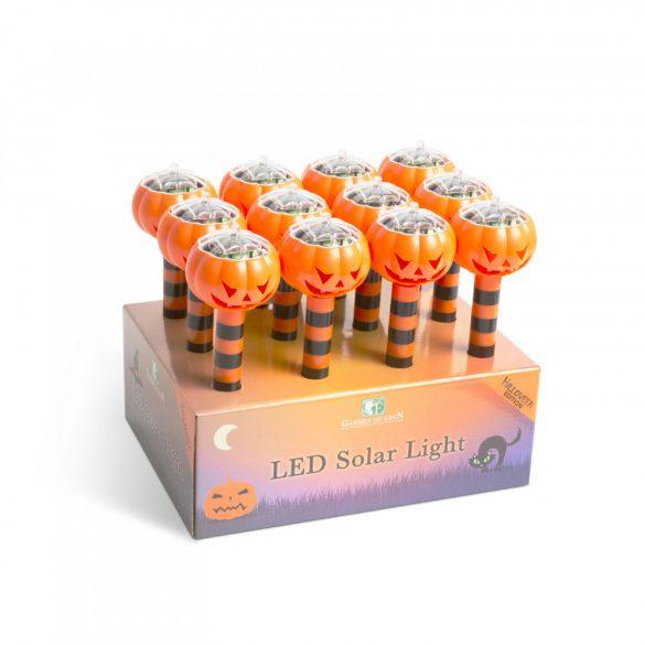 LED-es szolár lámpa - töklámpás  11374C