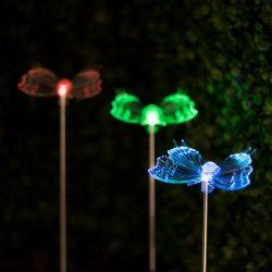 RGB LED-es szolár lámpa11393
