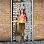 Szúnyogháló függöny ajtóra  feliratos 11398B