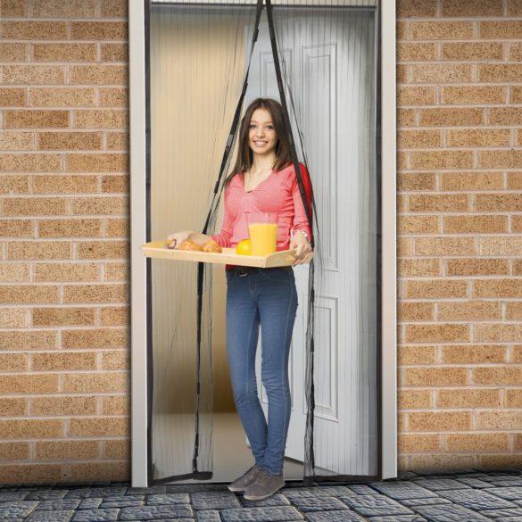 Szúnyogháló függöny ajtóra   11398BK