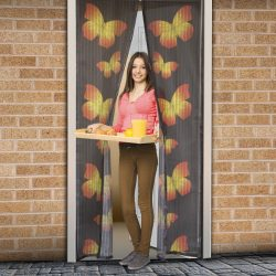 Szúnyogháló függöny ajtóra   11398C