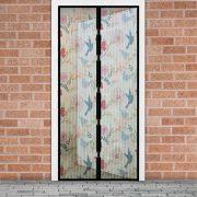 Szúnyogháló ajtóra madár mintás 11398J