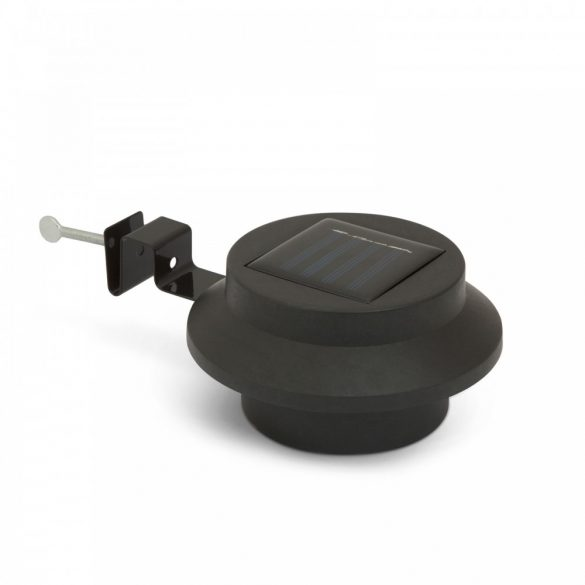 Szolár ereszcsatorna / kerítés fény 3 LED-del - fekete11445BK