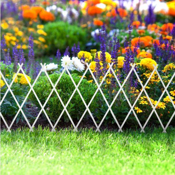 Virágágyás szegély / kerítés - kihúzható 11469A