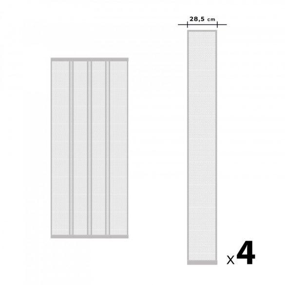 Szúnyogháló függöny ajtóra fehér 11608WH