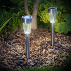 LED-es kültéri szolár lámpa  11702A