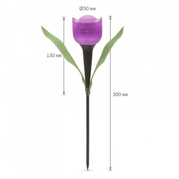 LED-es szolár tulipánlámpa11703