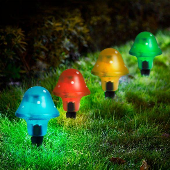 LED-es szolár gombalámpa   11704