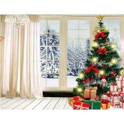 Szövet háttér fotózáshoz.Karácsony stúdió háttér 2.1 x 1.5m  1237864
