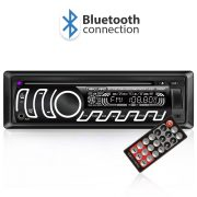 Carguard Autórádió fejegységCD/MP3- Bluetooth, FM, USB, SD, AUX - változtatható háttérvilágítással 4 x 50W  39704