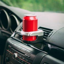 Autós italtartó - szellőzőrácsra rögzíthető  55030A