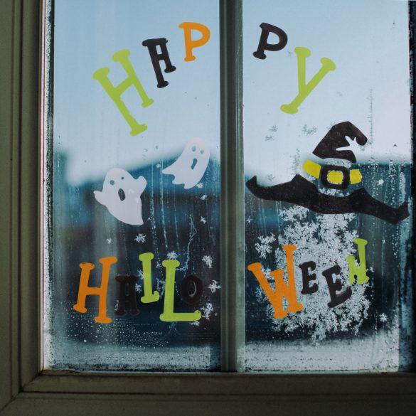 Zselés ablakdekor - halloween  55204H