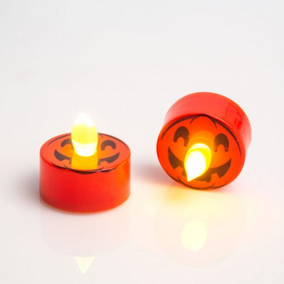 LED teamécses - tök - 2 db / csomag  55247J