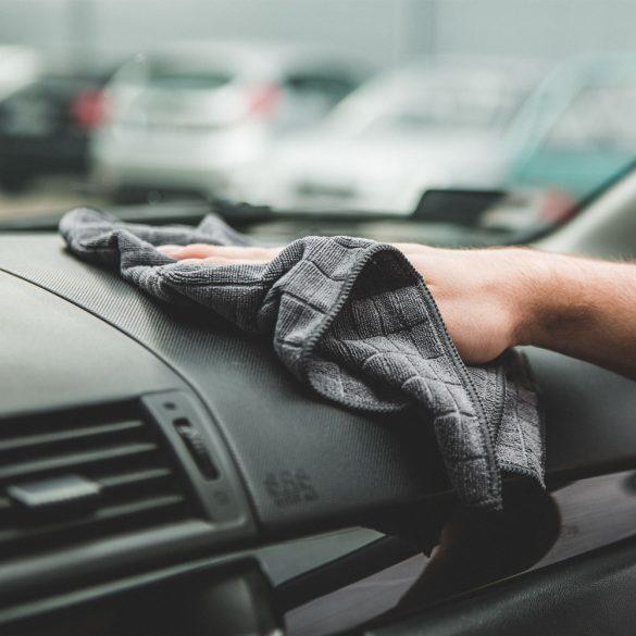 Autós törlőkendő készlet - 4 db / csomag 55693