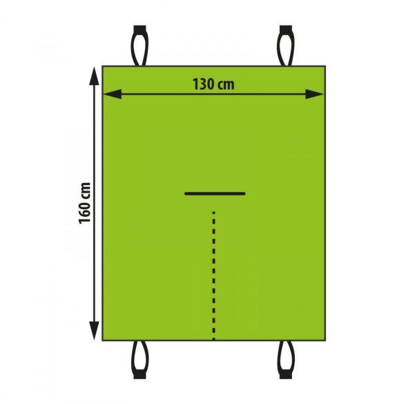 Ülésvédő huzat háziállatoknak - fekete - 130 x 160 cm  55699B