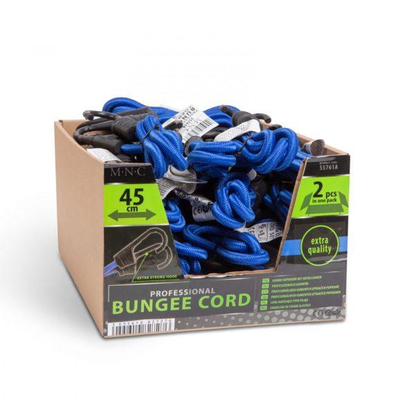 Professzionális gumipók szett - kék - 45 cm x 8 mm - 2 db / csomag  55761A