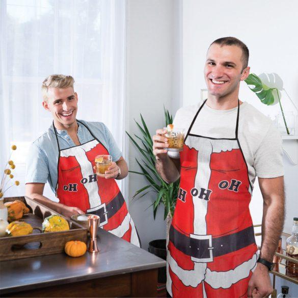 Kötény - karácsonyi - férfi  55927A