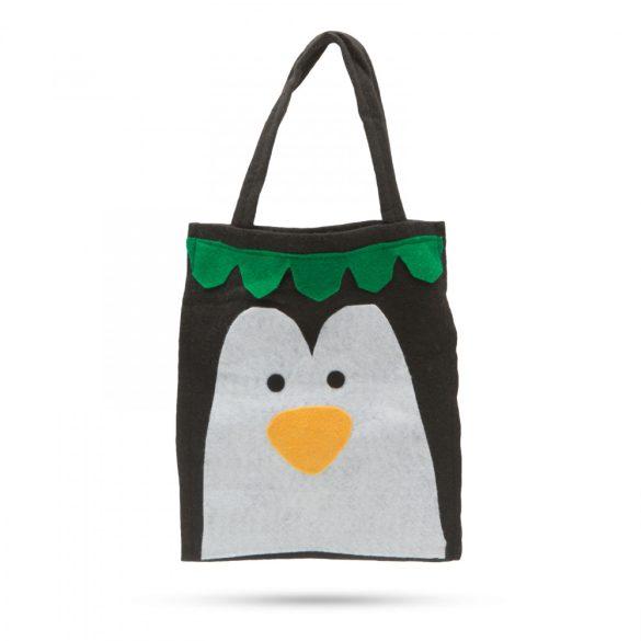 Ajándéktáska - pingvin figurás  55966B