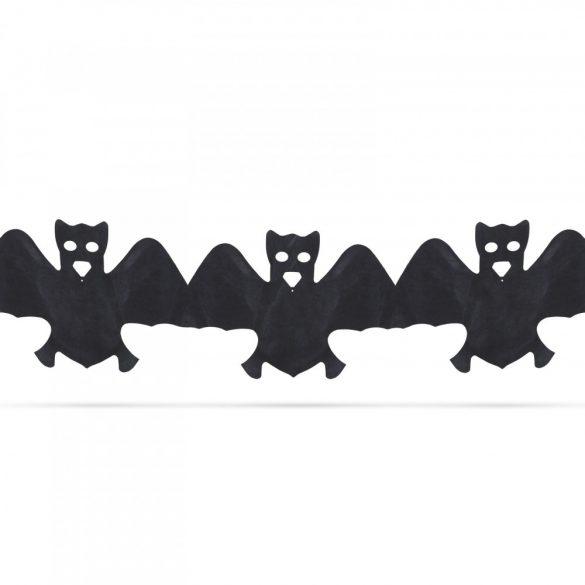 Halloween-i papír girland - denevér - 3 m  56509B