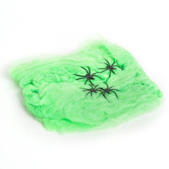 Pókháló és pók - zöld  56510A