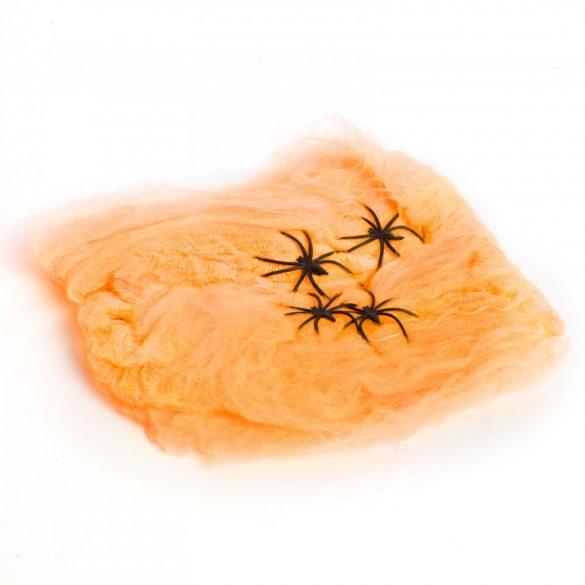 Pókháló és pók - narancs  56510B