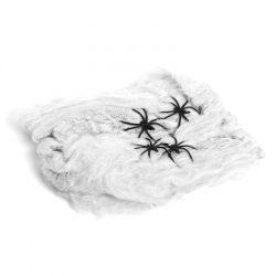 Pókháló és pók - fehér  56510C