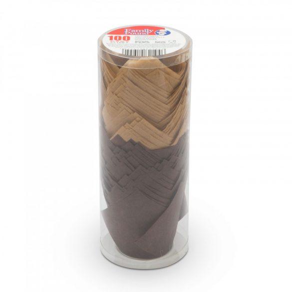 Muffin papír szett - tulipán - 100 db / csomag 57168Y