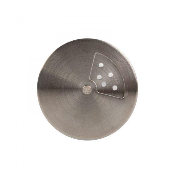 Só- borsszóró - üveg, rozsdamentes acél - 80 x 48 mm 57309B