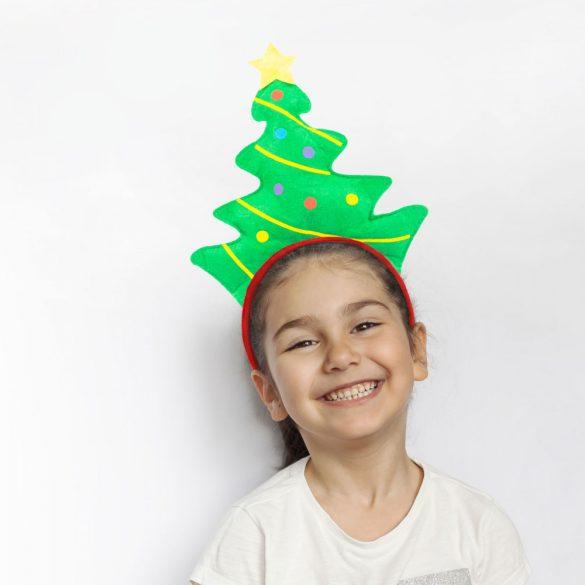 Karácsonyi hajráf - karácsonyfa  58020G