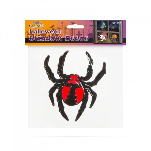 Halloween-i ablakdekor - pók  58107C