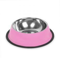 Etetőtál - 18 cm - rózsaszín  60005PK