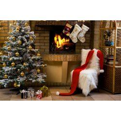 Vinyl háttér fotózáshoz. Karácsonyi fotó háttér  150X210 cm  SD-233