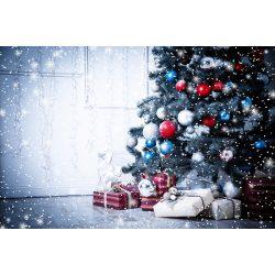 Vinyl háttér fotózáshoz. Karácsonyi fotó háttér 150X210 cm  SD-285