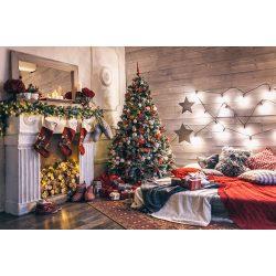 Vinyl háttér fotózáshoz. Karácsonyi fotó háttér 150X210 cm / 200cm x 300cm  SD-416