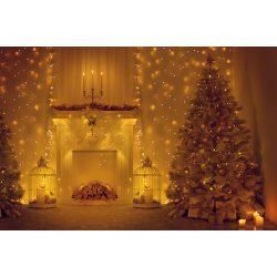 Vinyl háttér fotózáshoz. Karácsonyi fotó háttér 150X210 cm  SD-417