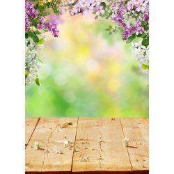 Vinyl háttér fotózáshoz.Virágos fotó háttér 150cm x 210cm c-1290