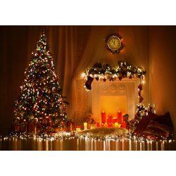 Vinyl háttér fotózáshoz. Karácsonyi fotó háttér 150cm x 210cm sd-177