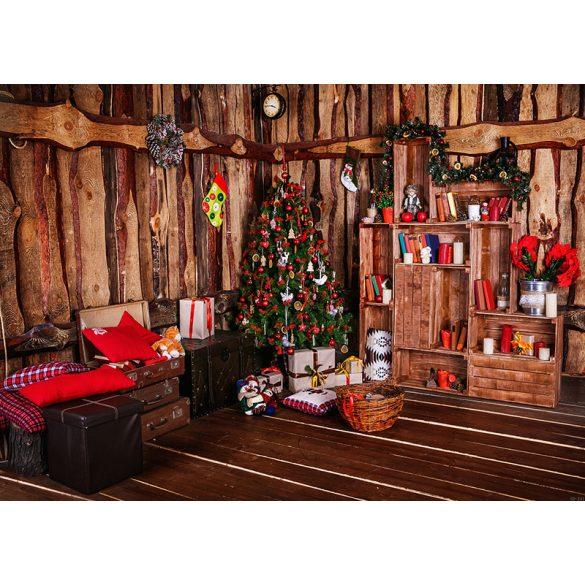 Vinyl háttér fotózáshoz.Karácsonyi fotó háttér 150cm x 210cm sd-241