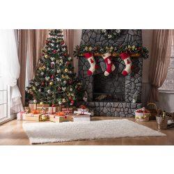 Vinyl háttér fotózáshoz.Karácsonyi fotó háttér 150cm x 210cm sd-270