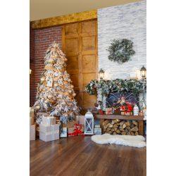 Vinyl háttér fotózáshoz.Karácsonyi fotó háttér 150cm x 210cm sd-399