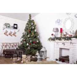 Vinyl háttér fotózáshoz.Karácsonyi fotó háttér 150cm x 210cm sd-434