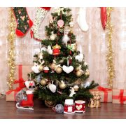 Vinyl háttér fotózáshoz. Karácsonyi fotó háttér 150cm x 210cm sd-437