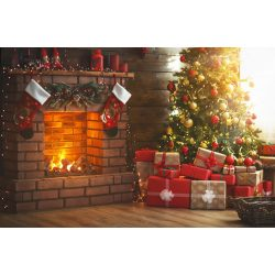Vinyl háttér fotózáshoz.Karácsonyi fotó háttér 150cm x 210cm sd-452
